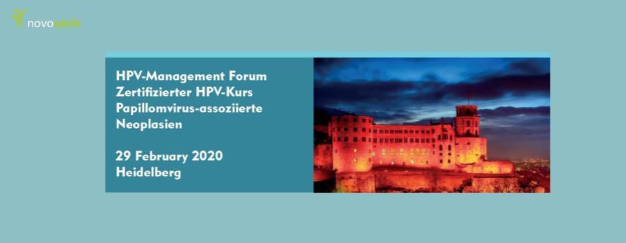HPV-Management forum