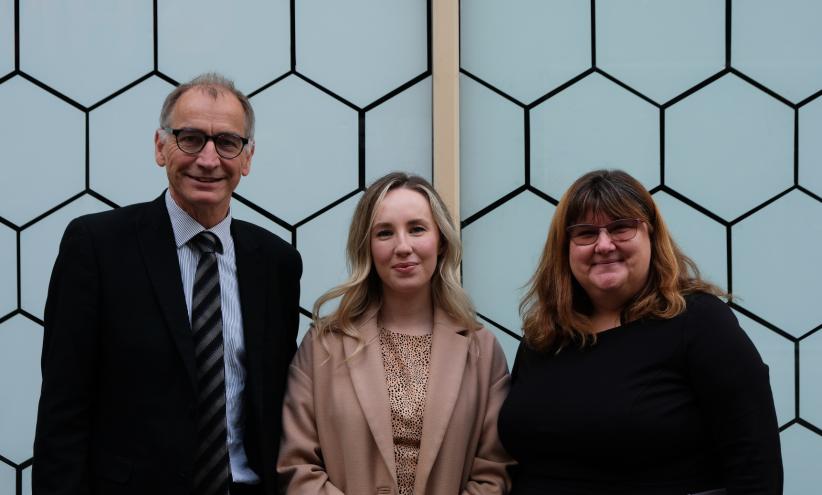 Dr. Barbara Guinn, Kevin Philips, Leah Cooksey